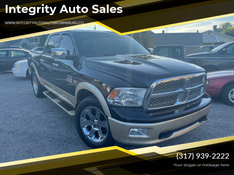 2011 RAM Ram Pickup 1500 for sale at Integrity Auto Sales in Brownsburg IN