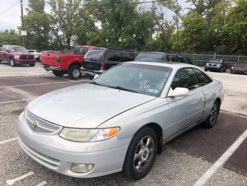 1999 Toyota Camry Solara for sale at Jeffrey's Auto World Llc in Rockledge PA