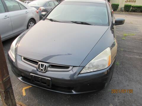 2003 Honda Accord for sale at Mid - Way Auto Sales INC in Montgomery NY