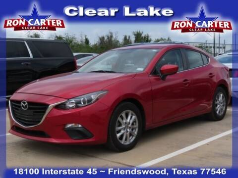 2016 Mazda MAZDA3 for sale at Ron Carter  Clear Lake Used Cars in Houston TX