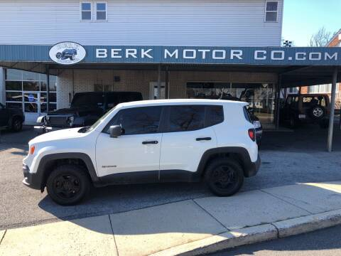 2015 Jeep Renegade for sale at Berk Motor Co in Whitehall PA