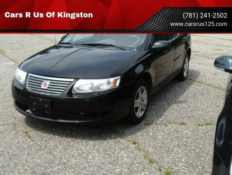 2007 Saturn Ion for sale at Cars R Us Of Kingston in Kingston NH