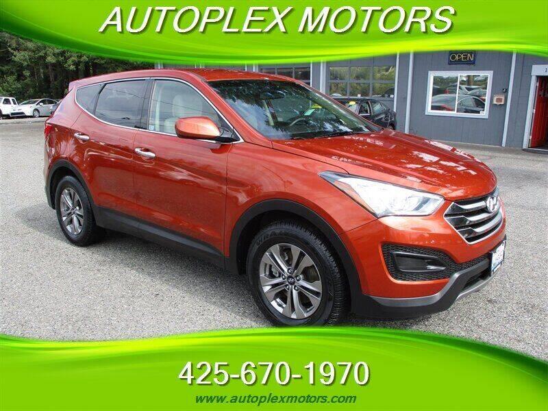 2015 Hyundai Santa Fe Sport for sale at Autoplex Motors in Lynnwood WA