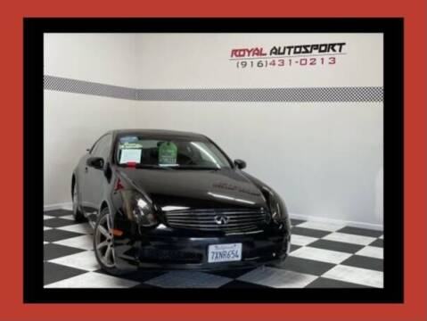 2004 Infiniti G35 for sale at Royal AutoSport in Sacramento CA
