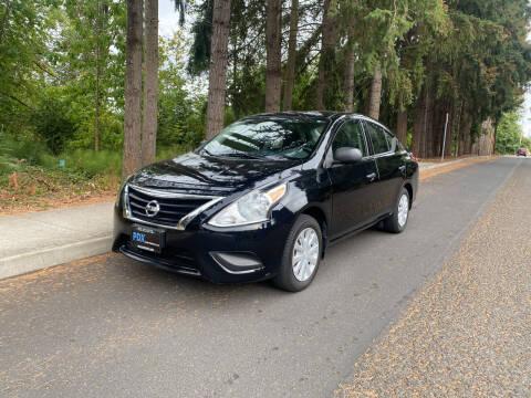 2015 Nissan Versa for sale at PDX Car People LLC in Milwaukie OR