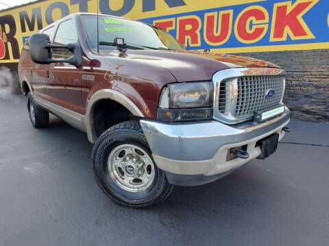 2000 Ford Excursion for sale at B & R Motor Sales in Chicago IL