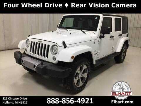 2017 Jeep Wrangler Unlimited for sale at Elhart Automotive Campus in Holland MI