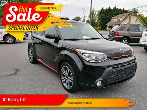 2015 Kia Soul for sale at GT Motors, LLC in Elkin NC