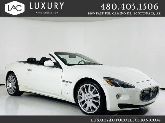 2017 Maserati GranTurismo for sale at Luxury Auto Collection in Scottsdale AZ