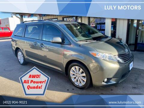 2011 Toyota Sienna for sale at Luly Motors in Lincoln NE