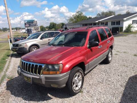 2002 Jeep Grand Cherokee for sale at LEWIS AUTO in Mountain Home AR