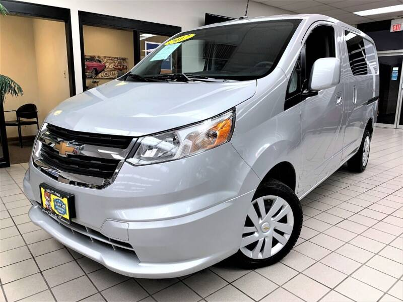 2017 Chevrolet City Express Cargo for sale at SAINT CHARLES MOTORCARS in Saint Charles IL