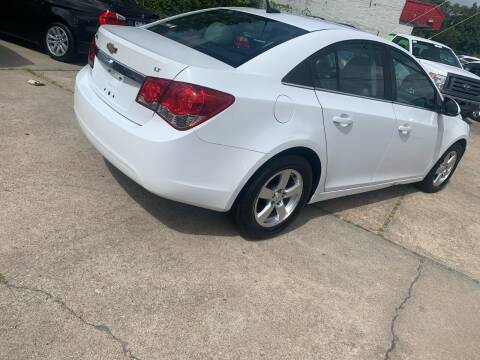 2013 Chevrolet Cruze for sale at Whites Auto Sales in Portsmouth VA