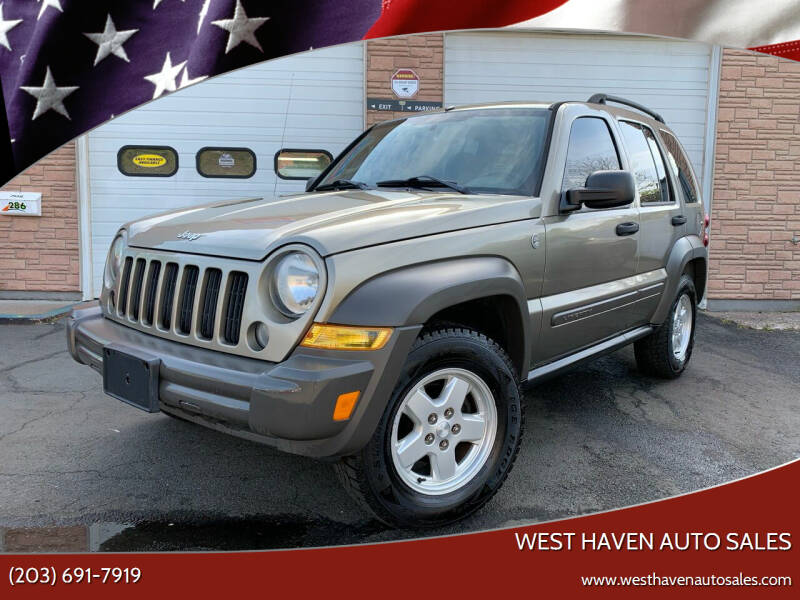 2007 Jeep Liberty for sale at West Haven Auto Sales in West Haven CT