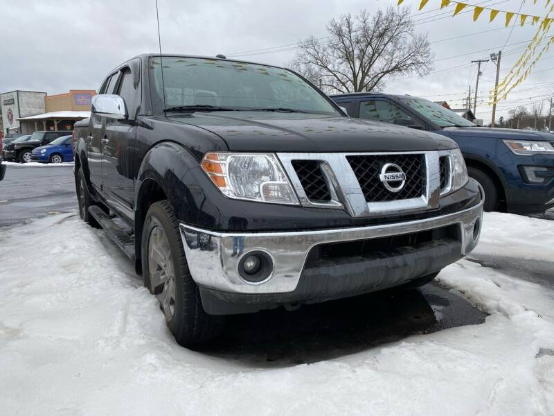 2014 Nissan Frontier for sale at Auto Exchange in The Plains OH