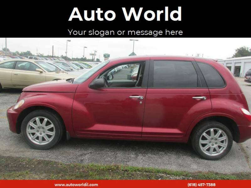 2007 Chrysler PT Cruiser for sale at Auto World in Carbondale IL