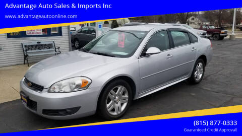 2010 Chevrolet Impala for sale at Advantage Auto Sales & Imports Inc in Loves Park IL