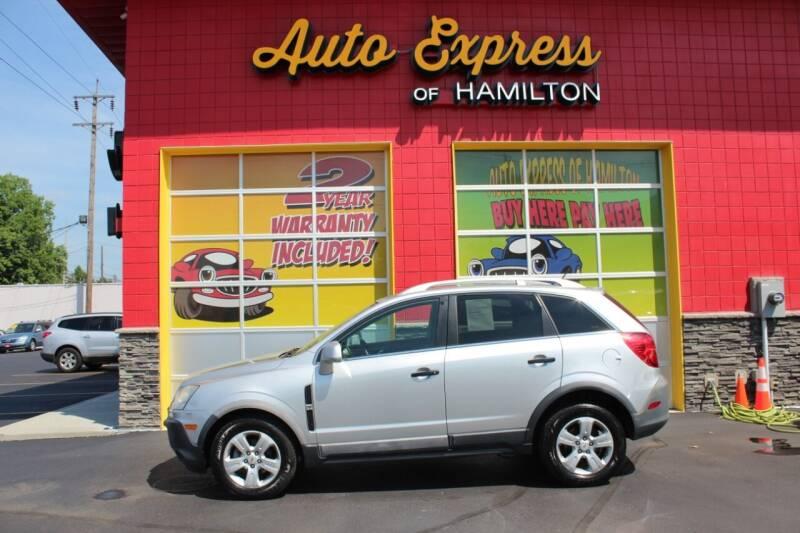 2013 Chevrolet Captiva Sport for sale at AUTO EXPRESS OF HAMILTON LLC in Hamilton OH