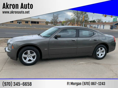 2010 Dodge Charger for sale at Akron Auto - Fort Morgan in Fort Morgan CO