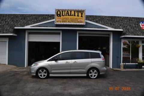 2006 Mazda MAZDA5 for sale at Quality Pre-Owned Automotive in Cuba MO