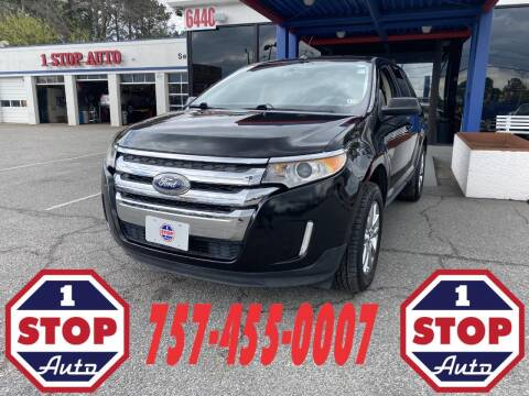 2013 Ford Edge for sale at 1 Stop Auto in Norfolk VA