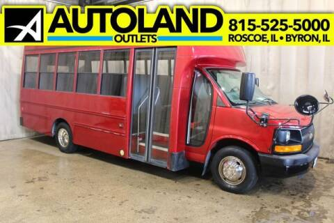 2012 Chevrolet Express Cutaway for sale at AutoLand Outlets Inc in Roscoe IL