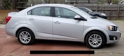 2016 Chevrolet Sonic for sale at Special Finance of Charleston LLC in Moncks Corner SC