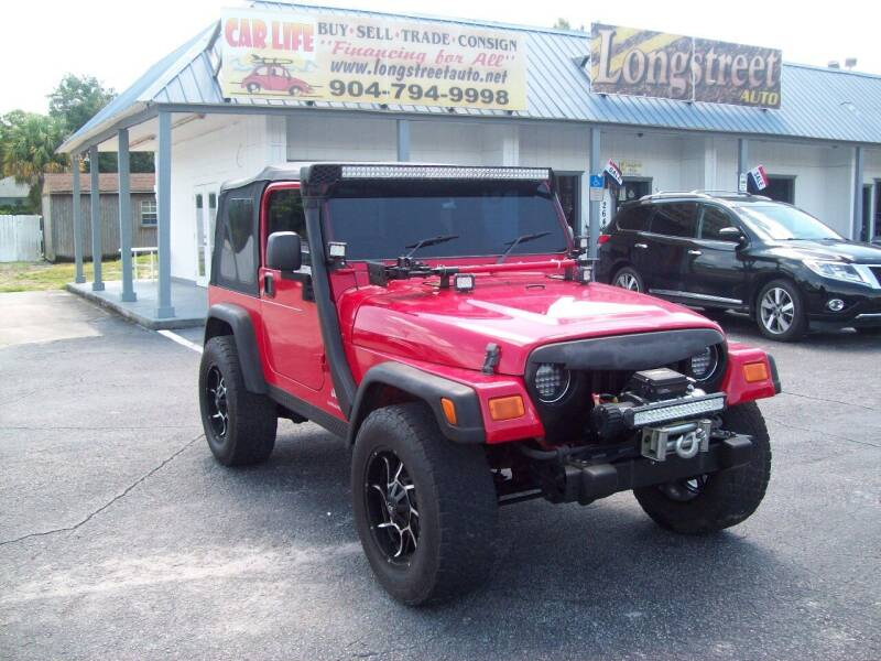 2006 Jeep Wrangler for sale at LONGSTREET AUTO in Saint Augustine FL
