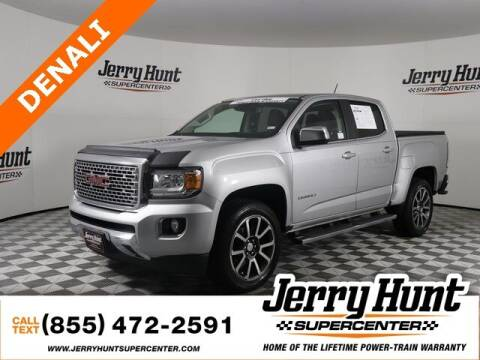 2018 GMC Canyon for sale at Jerry Hunt Supercenter in Lexington NC