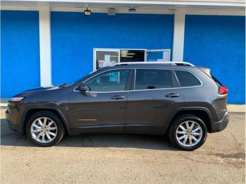 2015 Jeep Cherokee for sale at Khodas Cars in Gilroy CA