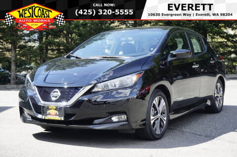 2019 Nissan LEAF for sale at West Coast Auto Works in Edmonds WA