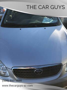 2005 Toyota Corolla for sale at The Car Guys in Tucson AZ