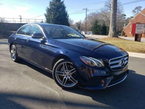 2017 Mercedes-Benz E-Class for sale at McAdenville Motors in Gastonia NC