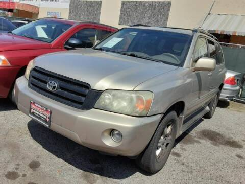 2005 Toyota Highlander for sale at Top Notch Auto Sales in San Jose CA