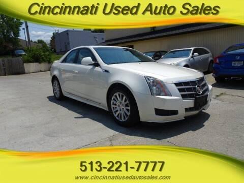 2011 Cadillac CTS for sale at Cincinnati Used Auto Sales in Cincinnati OH