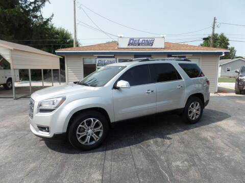 2014 GMC Acadia for sale at DeLong Auto Group in Tipton IN
