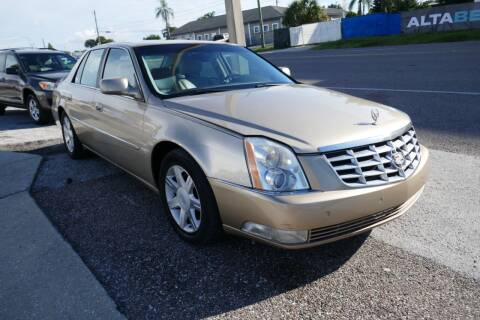 2006 Cadillac DTS for sale at J Linn Motors in Clearwater FL