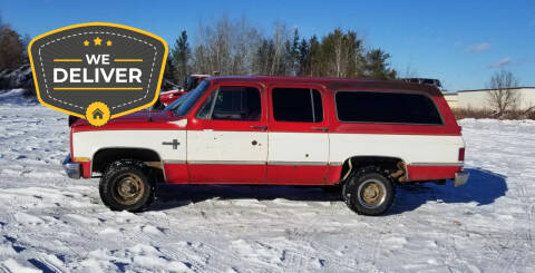1984 Chevrolet Suburban for sale at Tower Motors in Brainerd MN