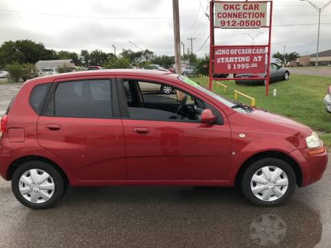 2007 Chevrolet Aveo for sale at OKC CAR CONNECTION in Oklahoma City OK