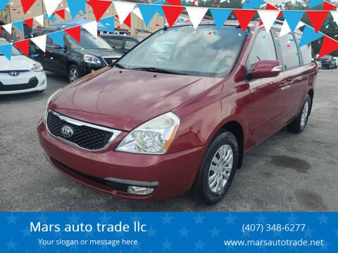 2014 Kia Sedona for sale at Mars auto trade llc in Kissimmee FL