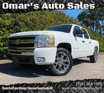 2009 Chevrolet Silverado 1500 for sale at Omar's Auto Sales in Martinez GA
