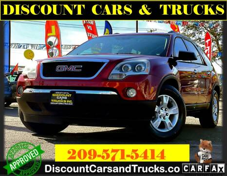 2010 GMC Acadia for sale at Discount Cars & Trucks in Modesto CA