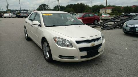 2012 Chevrolet Malibu for sale at Kelly & Kelly Supermarket of Cars in Fayetteville NC