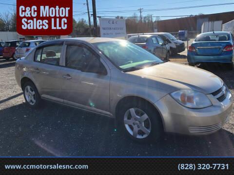 2007 Chevrolet Cobalt for sale at C&C Motor Sales LLC in Hudson NC