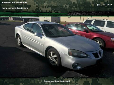 2004 Pontiac Grand Prix for sale at Cannon Falls Auto Sales in Cannon Falls MN