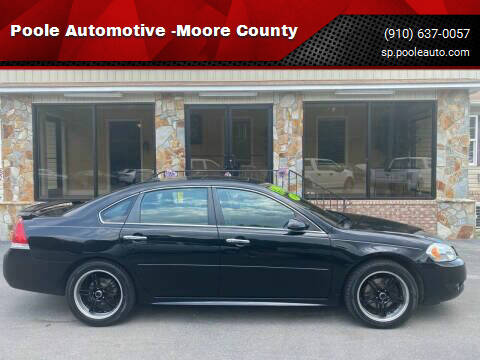 2014 Chevrolet Impala Limited for sale at Poole Automotive -Moore County in Aberdeen NC
