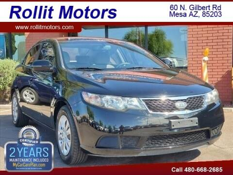 2011 Kia Forte for sale at Rollit Motors in Mesa AZ