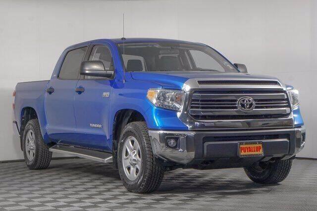 2017 Toyota Tundra for sale at Washington Auto Credit in Puyallup WA