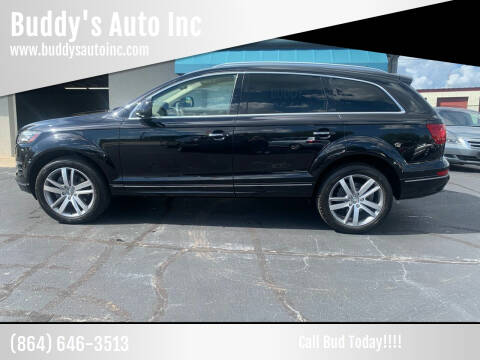 2013 Audi Q7 for sale at Buddy's Auto Inc in Pendleton, SC