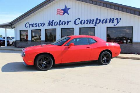 2014 Dodge Challenger for sale at Cresco Motor Company in Cresco IA